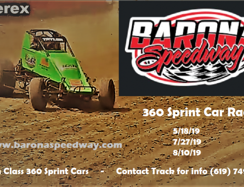 360 Sprints Coming back 5-18-19
