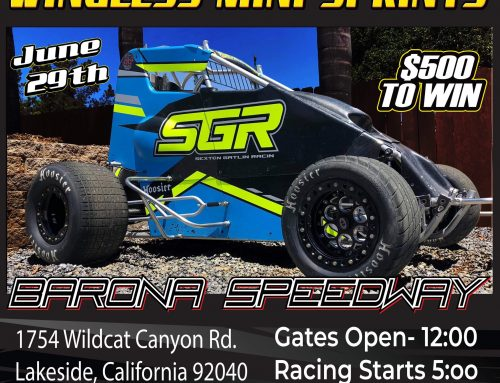 WINGLESS MINI SPRINTS
