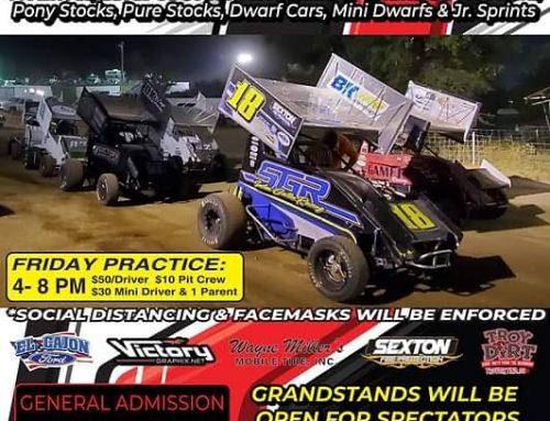 Saturday Night Racing 9-19-2020