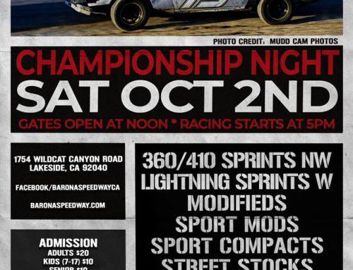 Championship Night